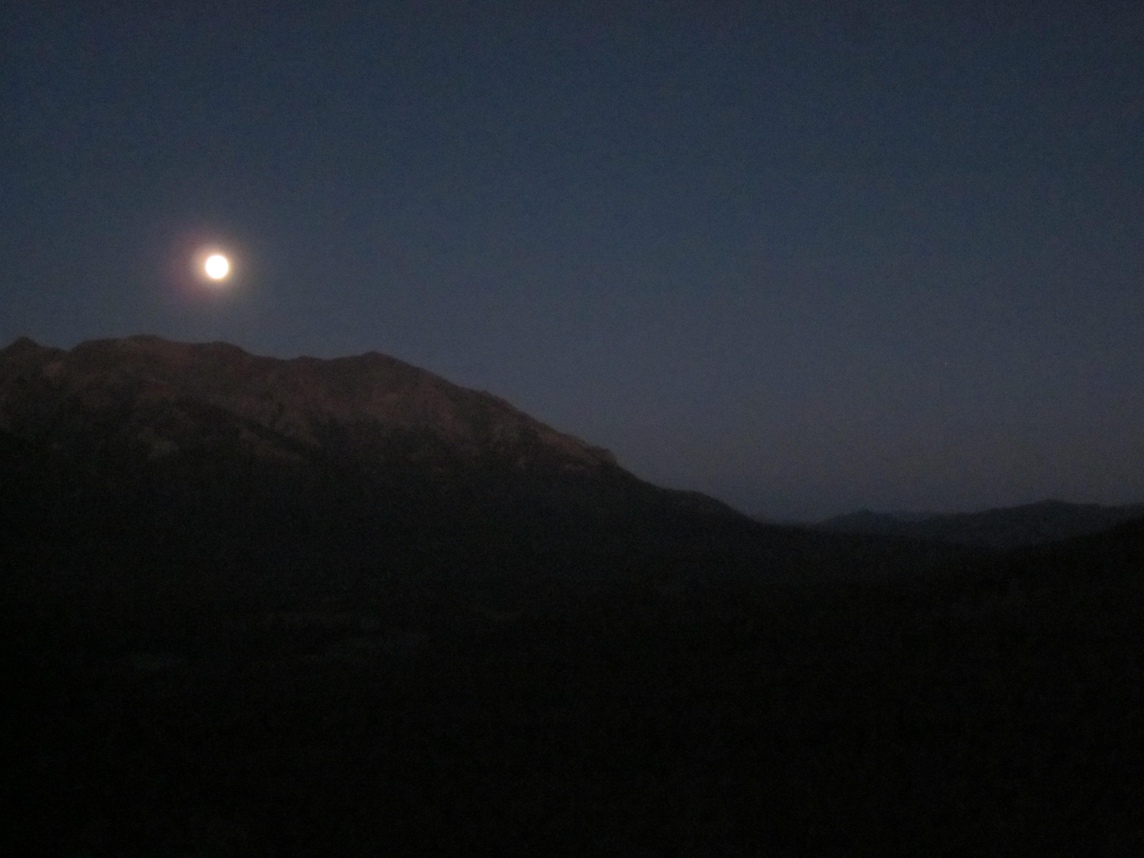 Full Moon Idaho Full Moon Over Idaho